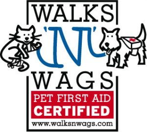 Walks 'n Wags Pet First Aid Certified